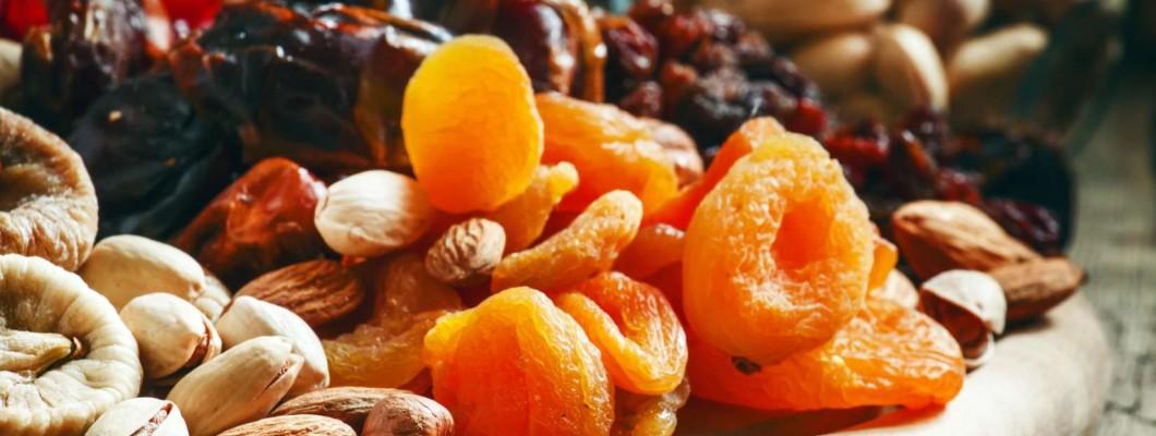 Fructele uscate, sănătate curată
