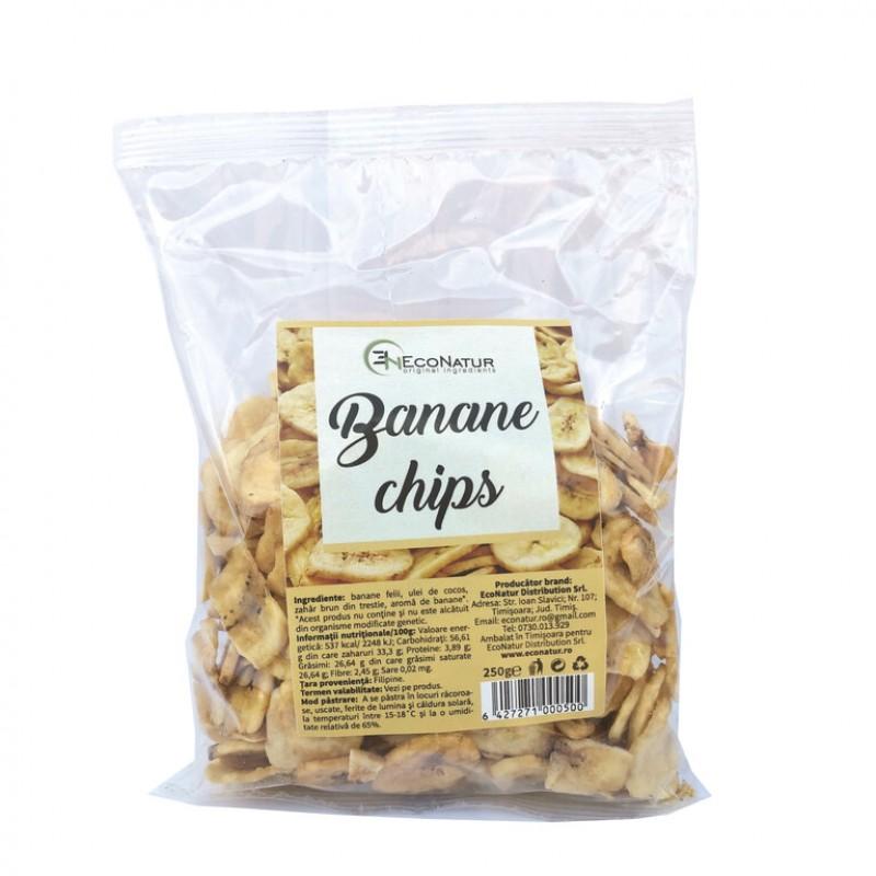 Banane chips 250g Econatur