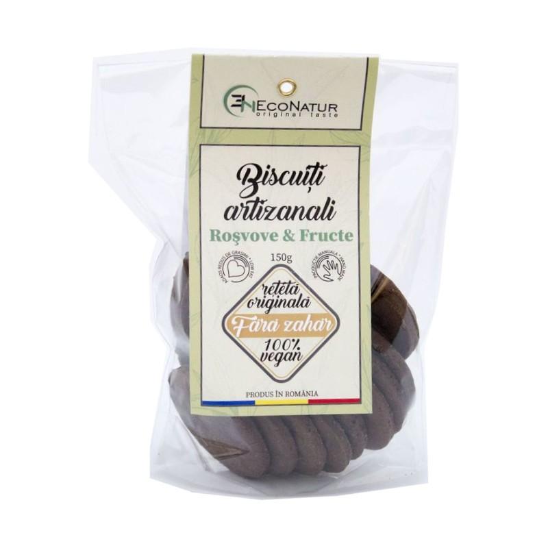 Biscuiti Artizanali Roscove si Fructe Uscate fara Zahar 150g