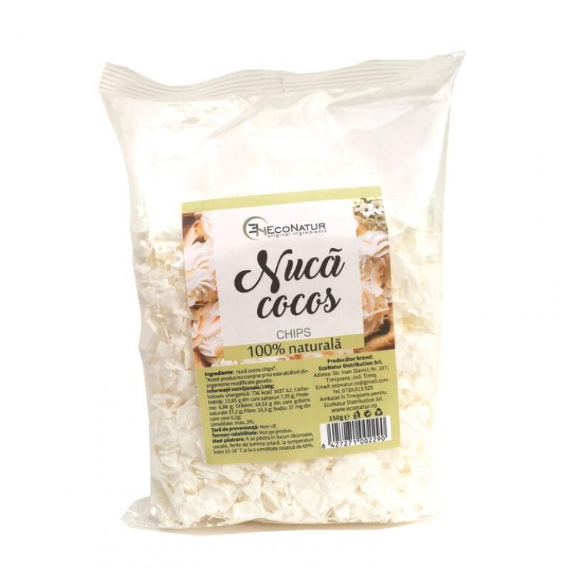 Nuca cocos chips 150g Econatur